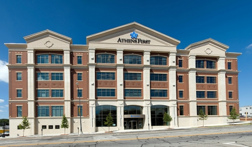Athens First Bank and Trust Commercial Construction