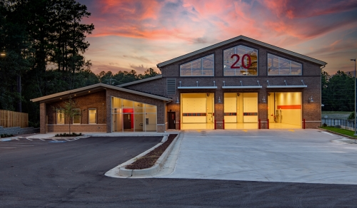 Augusta Georgia Commercial Construction Richmond County Fire Station